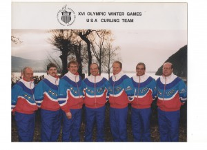 The 1992 Winter Olympic U.S.A. Curling Team